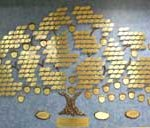 Photo of the Giving Tree inside the Library
