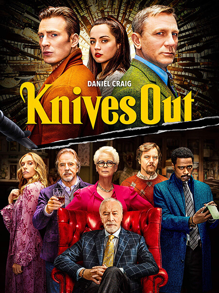 Knives out move poster